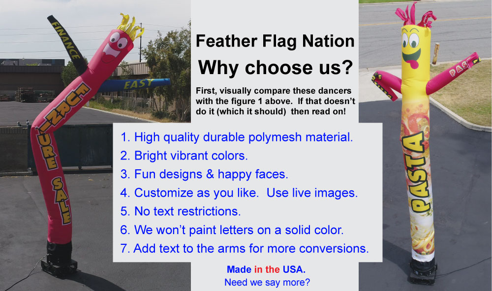 Good Quality Polymesh Material Air Dancers