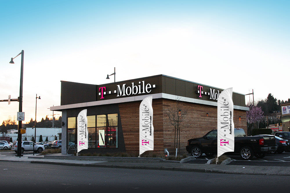 t mobile store feather flags