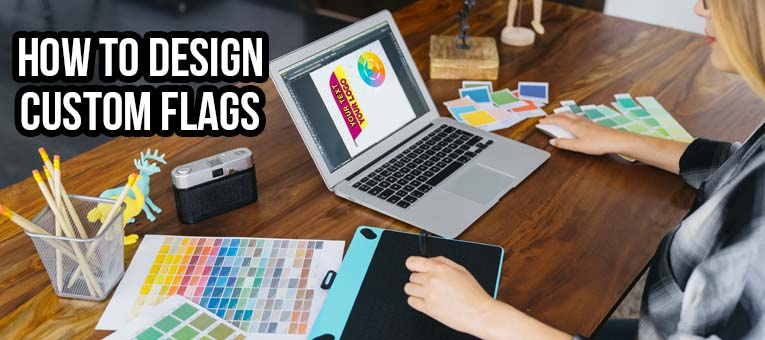 how to design custom flags