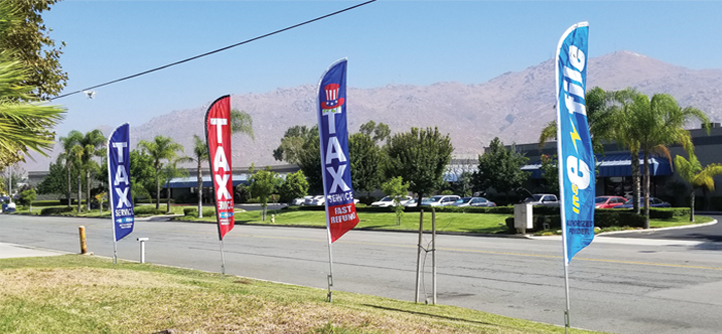 Tax Advertising Signs
