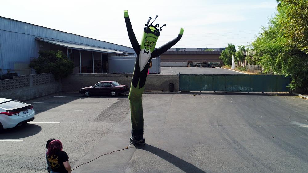 Frankenstein air tube dancers