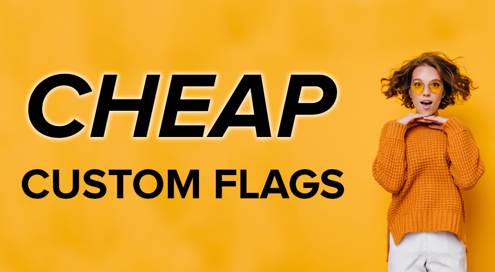 cheap custom flags