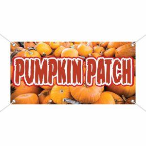 Pumpkin Patch - Halloween Vinyl Banner