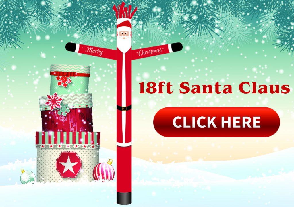 Santa Claus Tubeman Holiday