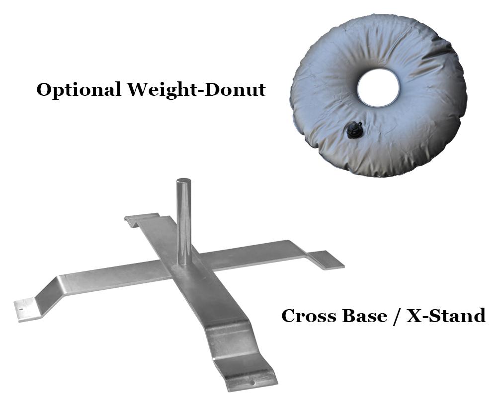 Cross Base Weight Donut