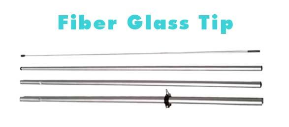 fiber-glass-tip feather flag pole kit