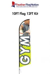 10FTFlag-CheapFlags-GymFlags