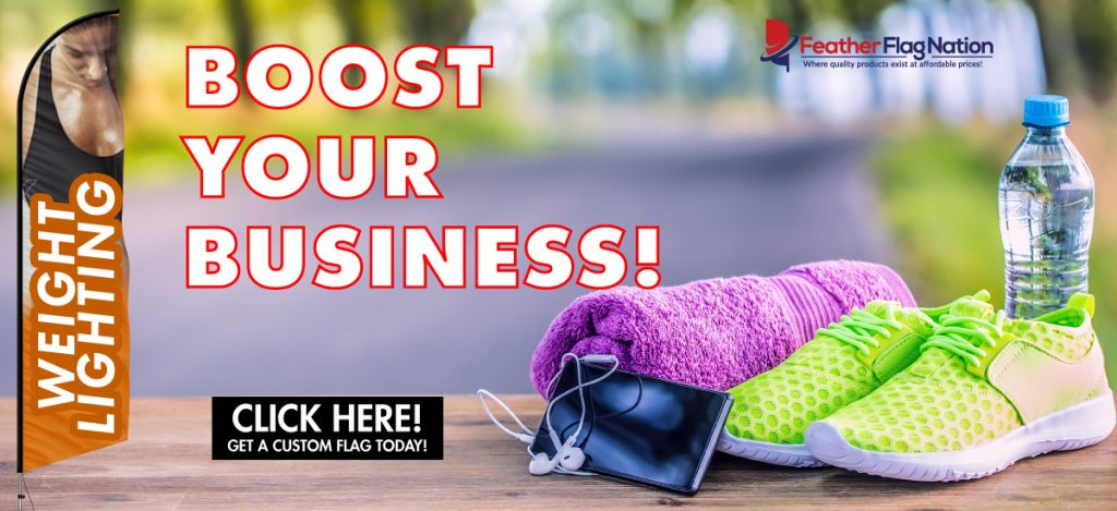 Boost Your Business with Feather Flags