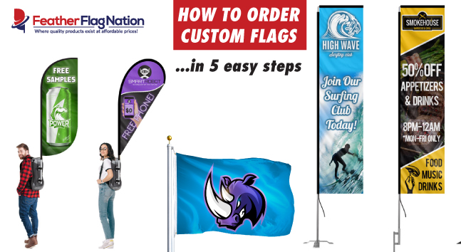 How to order custom flags in 5 steps