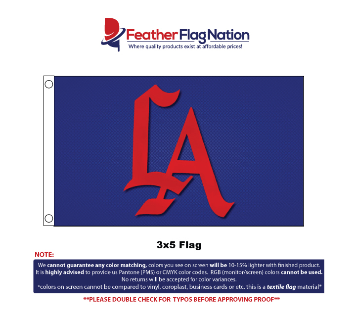 Custom Flag 3x5 Design Proof