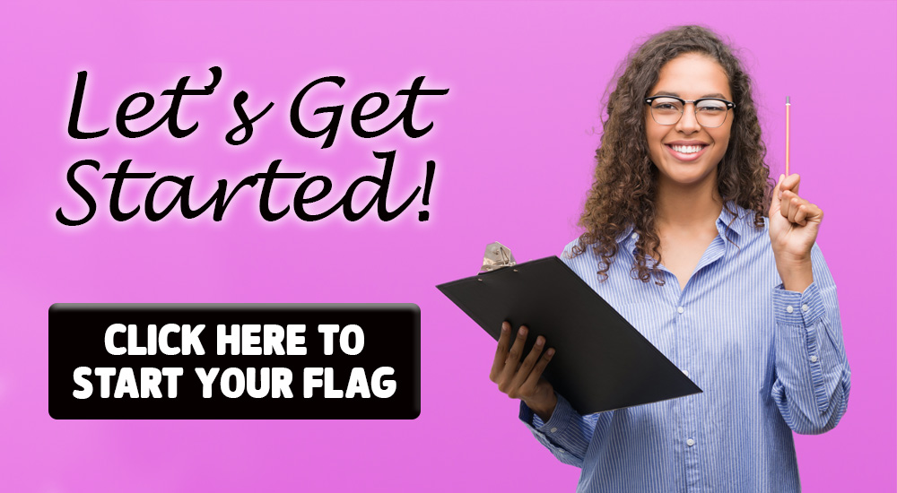 Lets get started, click here to start your flag