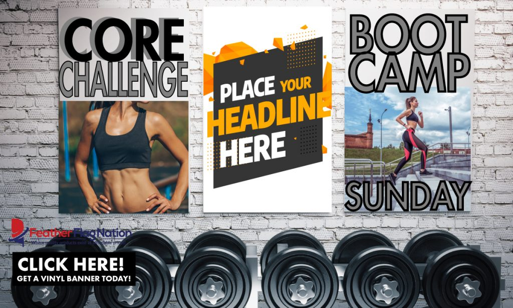 Vinyl Banners for Gyms