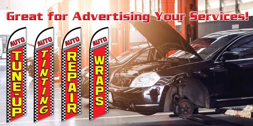 Great for Advertising Your Services!