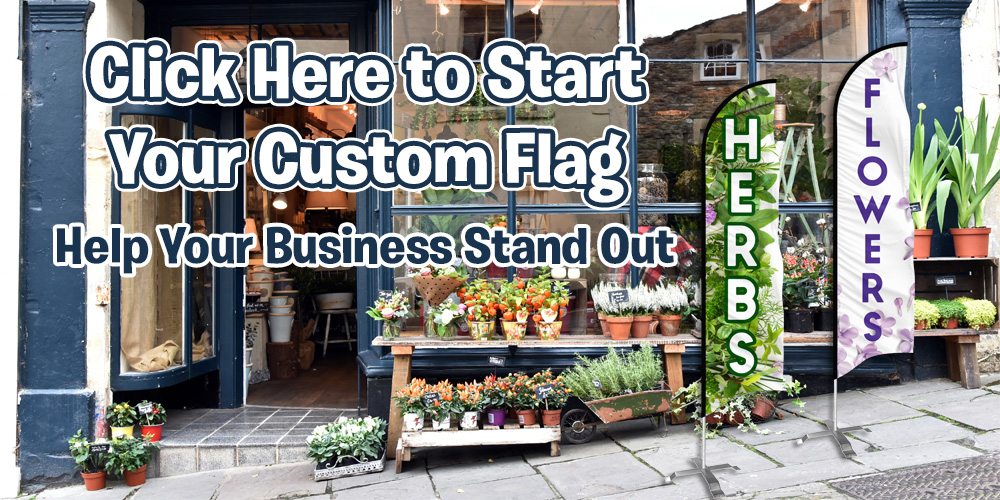 Custom Feather Flags for your Business