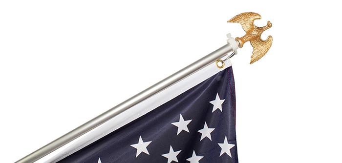 Flag Pole Eagle