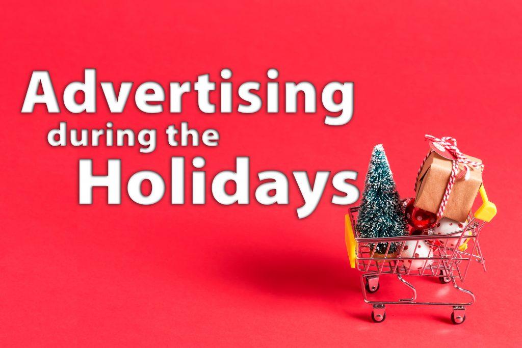 holiday shopping advertising