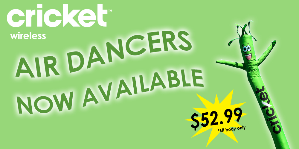 Air Dancers Now Available Cricket Wireless