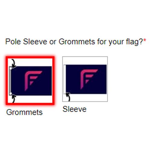 Pole Sleeve or Grommets