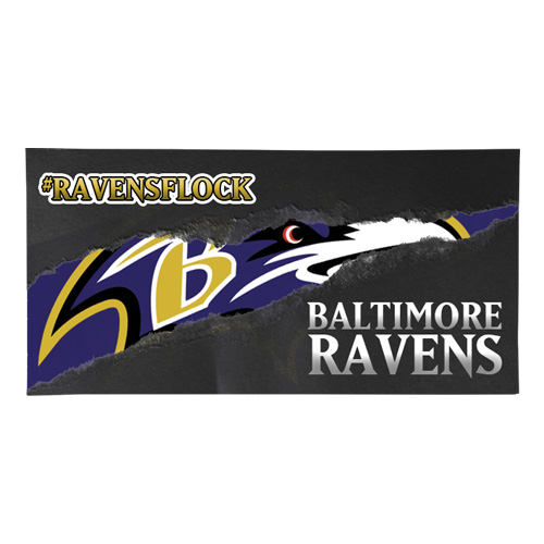 Ravens Vinyl Banner Mock Up