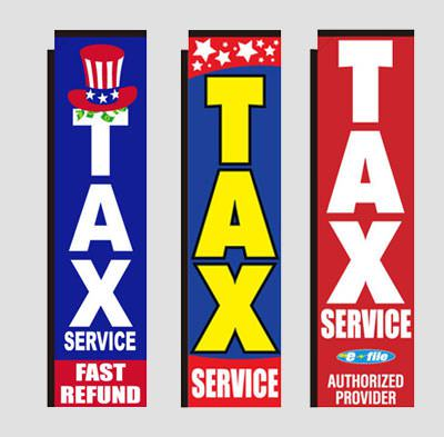 income tax rectangle flags