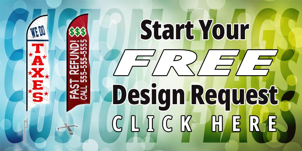 click here to design a custom flag