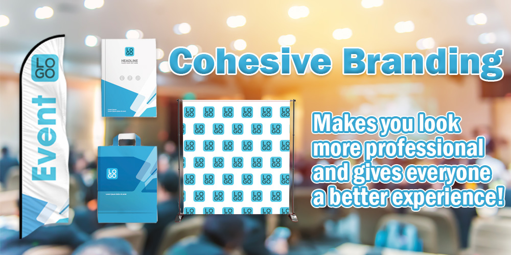 cohesive branding is important for corporate events