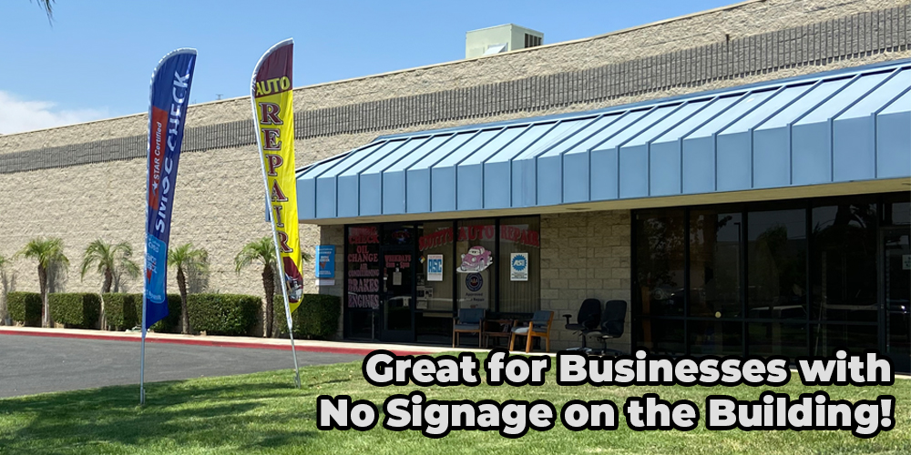 great for businesses that have no signage