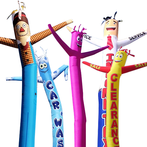 in stock inflatable tube men