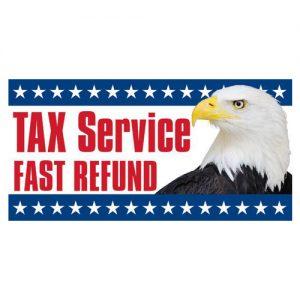 tax-service-fast-refund-vinyl-banner