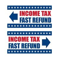 Tax Service Vinyl Banners – Pack of 2