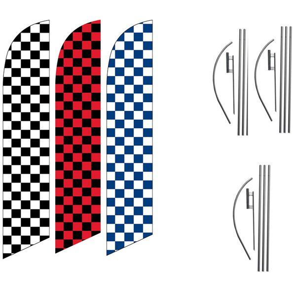 3-PACK-CHECKERED-GREAT-FOR-RACES-RED-WHITE-BLUE-CHECKERED-CHEAP-FLAGS