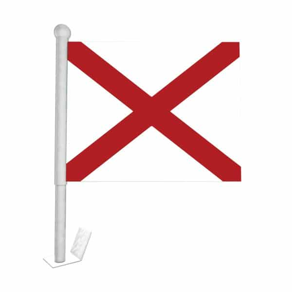 alabama state car flag