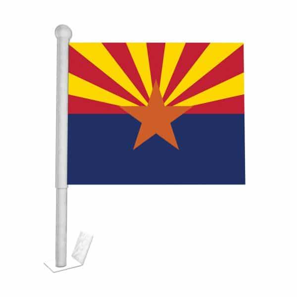 Arizona State Car Flag