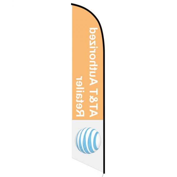 AT&T Authorized Retailer Feather Flag
