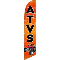 ATVS Feather Flag Kit with Ground Stake