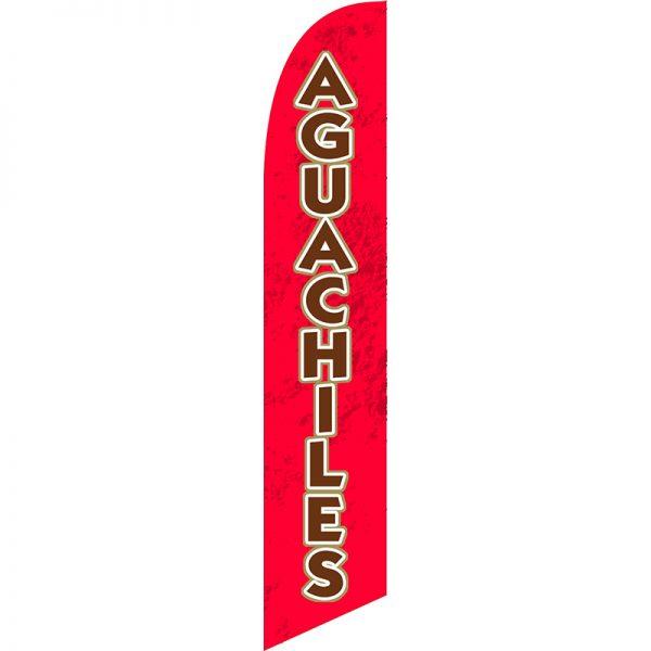 Aguachiles Feather Flag