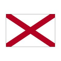 Alabama State 3×5 flag