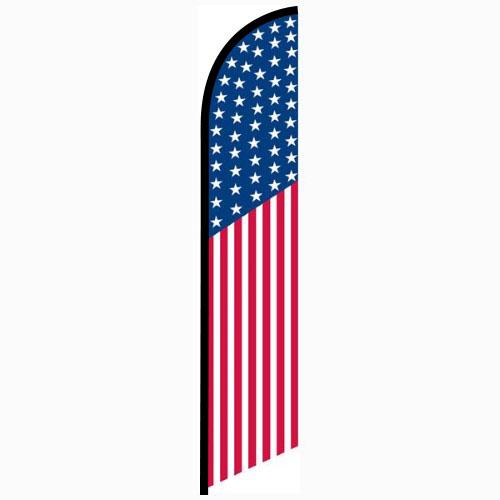 American 50 Star Feather Flag FFN-5019