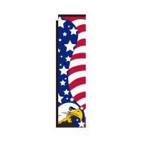 American Patriotic Rectangle Flag