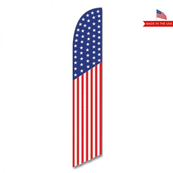 American Feather Flag