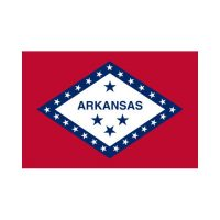 Arkansas State 3×5 Flag