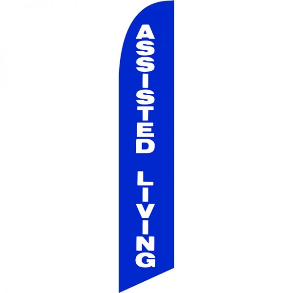 Assisted Living Feather Flag