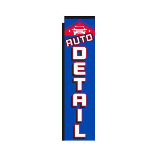 Auto Detail rectangle flag
