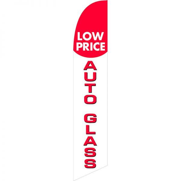 Auto Glass Feather Flag