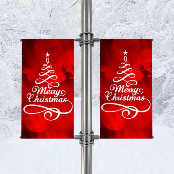 Avenue Banner For Christmas