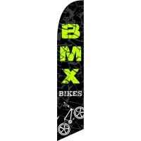 BMX Bikes Feather Flag Kit with Ground Stake