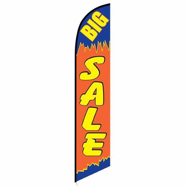 Big Sale feather flag