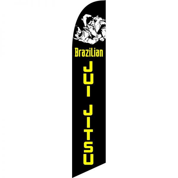 Brazilian Jui Jitsu Feather Flag