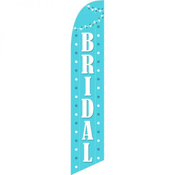 Bridal Feather Flag