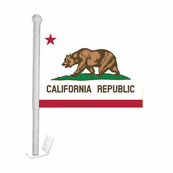 California State Car Flag